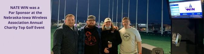 Nebraska-Iowa Wireless Association Top Golf Event